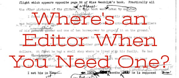 Where's an Editor When You Need One?: Mini-Reviews